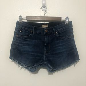 Mother Cut Off Blue Jean Shorts Custom Size 28